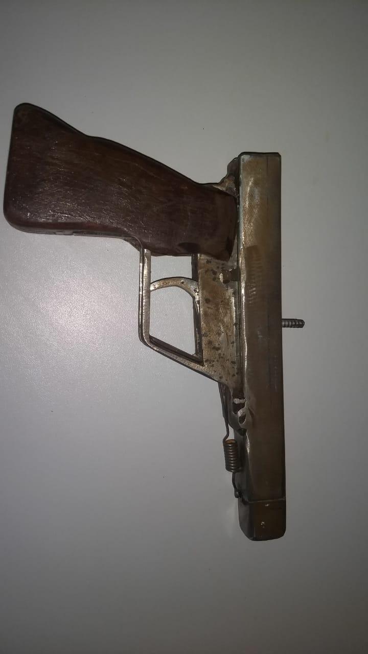 Arma utilizada na ação / Foto: Reprodução/Internet